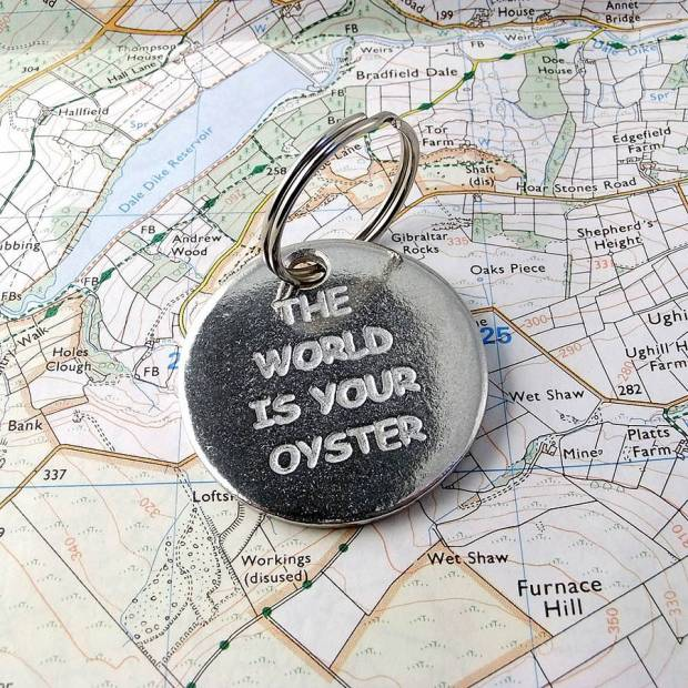 original_the-world-is-your-oyster-pewter-token