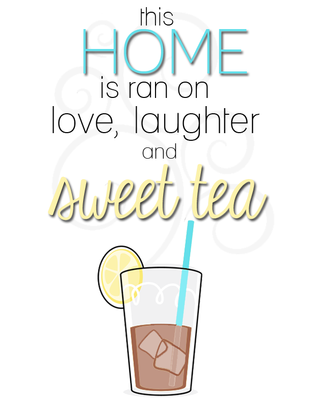 Love, Laughter and Sweet Tea copy
