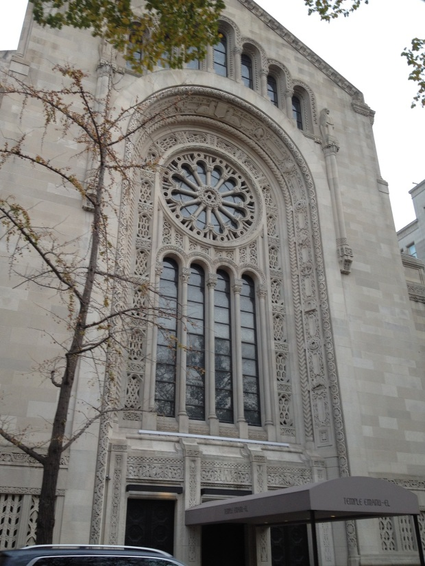 Temple Emanu-El | where Joan Rivers private funeral was among others
