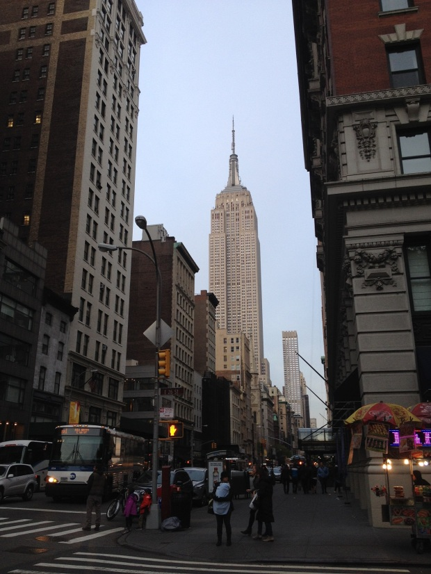 Of course the Empire State building was on the tour | fun fact: it has 73 elevators