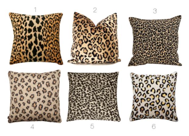 LeopardPillows