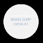 BrainDumpChecklist